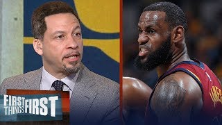 Chris Broussard reacts to LeBron's Cavs Defeating Pacers in Game 4 of Playoffs | FIRST THINGS FIRST