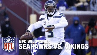 Russell Wilson Turns Bad Snap into an Unbelievable Play! | Seahawks vs. Vikings | NFL