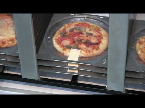 Pizza vending machine: First taste of Pizza Touch