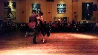 Adriel Bournissen y Soledad Mallo en Soho Tango - El Huracan