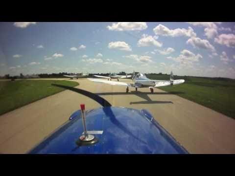 Ercoupe Flight to EAA AirVenture Oshkosh 2010
