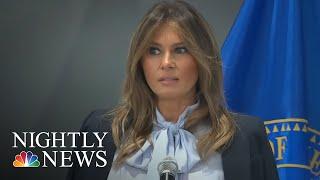 First Lady Melania Trump Speaks Out Against Cyberbullying | NBC Nightly News