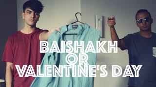 Pohela baishakh Or Valentine's Day?