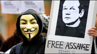Guerra Hacker Mundial Por La Liberación De Julian Assange
