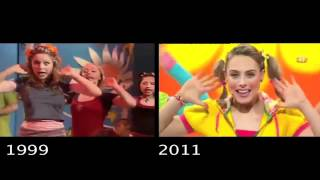 Hi-5 Five Senses (senses/about me)  Then and Now