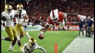 Miami Hurricanes Highlights vs Notre Dame