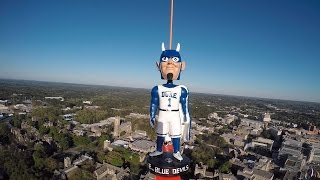 Duke Blue Devil In Space