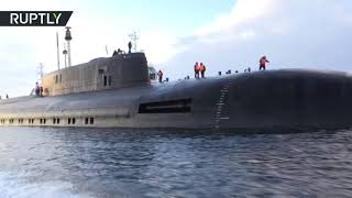 فيديو يعرض جمال وقوة أسطول الغواصات الروسي