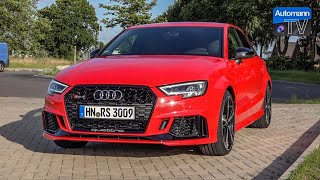 Audi RS3 Sedan (400hp) - DRIVE & SOUND (60FPS)