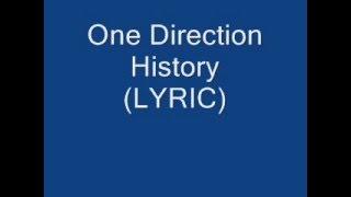 one direction history (lyric)