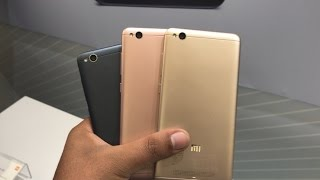 Xiaomi Redmi 4A Dark Grey vs Rose Gold Vs Gold Colour Comparison