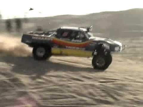 Robby Gordon Jumping at Glamis