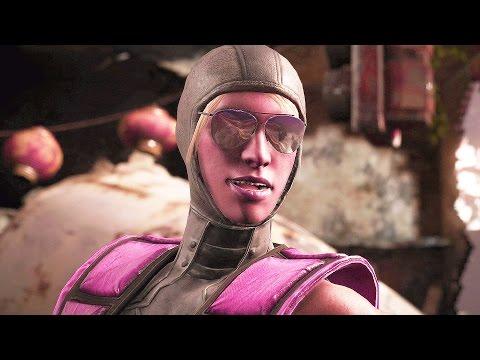 Mortal Kombat X Cosplay Pack Skin Gameplay Cosplay Skins Cassie Cage and Jacqui Briggs