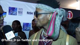Emtee on Areece and Nasty C (who is the real deal?). Ft RawBust Productions|| Tusko_D Interviews