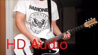 Ramones – Beat On The Brat - LIVE (Guitar Cover), Barre Chords, Downstroking, Johnny Ramone