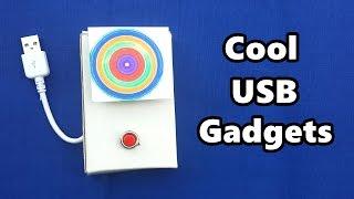 4 Cool USB Gadgets you can Make at Home - DIY Tutorials
