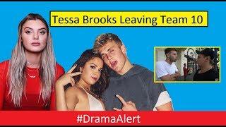 Tessa Brooks Leaving Team 10 ! #DramaAllert Alissa Violet vs Erika Costell! Martinez Twins!