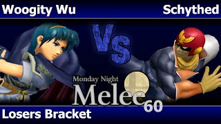 MNM 60 Melee - Woogity Wu (Marth) vs Schythed (C Falcon) - Losers Bracket