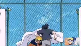 Naruto vs sasuke 1ra batalla en español latino