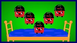 Henry Hoover - Five Little Monkeys Jumping On The Bed