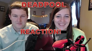 DEADPOOL RED BAND TRAILER 2 - REACTION !