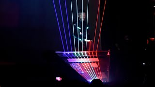 Time Composer with Laser Harp - FIRST TIME - Laser Piano / Laser harp - SyntFest2017