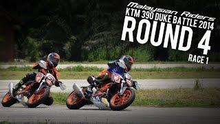 KTM 390 Duke Battle 2014 - Round 4:Dato Sagor Race 1