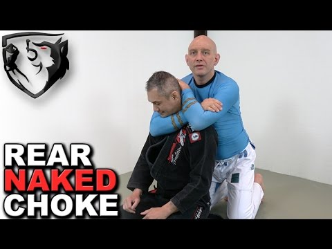 How to Apply TIGHTEST Rear Naked Choke for MMA BJJ