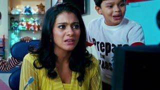 Kajol starts panicking looking at the Devtoons - Toonpur Ka Super Hero