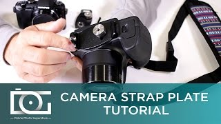 CAMERA STRAP PLATE TUTORIAL   Accessing The Camera Battery Compartment While Using a Strap Plate
