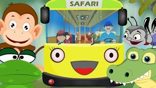 Wheels On The Bus New | Zoo Trip | Nursery Rhymes