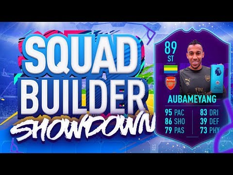 Xxx Mp4 FIFA 19 SQUAD BUILDER SHOWDOWN PLAYER OF THE MONTH AUBAMEYANG 89 Rated Auba Vs Itani 3gp Sex