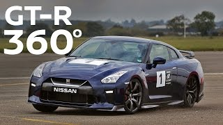 GT-R 2017 - 360 Degree VR Track Attack at Air Force base (MY17 GTR at #GTAcademy)
