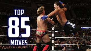 Top 85 Moves of AJ Styles