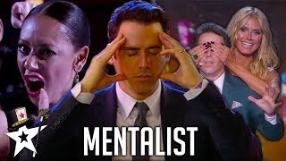 REAL Mind-Reader! Oz Pearlman The Mentalist on America