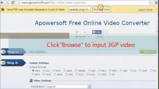 Free convert 3gp to wmv with ease