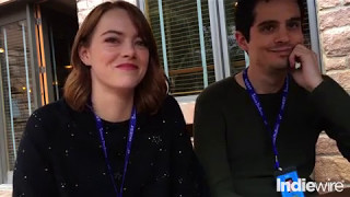 """La La Land"" Interview: Damien Chazelle and Emma Stone Talk About Their Modern Musical Marvel"