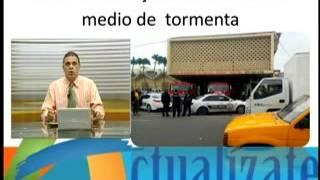 Abel pone en peligro población de Santiago Actualizate con Ruben Rodriguez