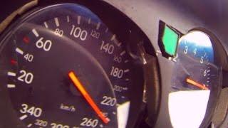 Toyota Supra 1200 PS Turbo Acceleration 0-300 Wheelspinn