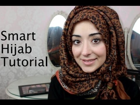 Smart Hijab Tutorial For Work or Office