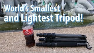World's Smallest & Lightest Tripod! - Sirui T-025X!