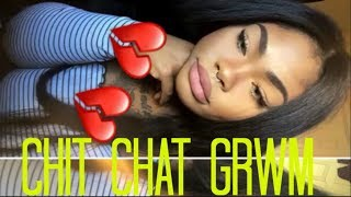 Chit Chat GRWM | I Hate My Skin Color?! I'm Moving to Cali + More Boy DRAMA