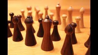 Woodturning - The Chess Set