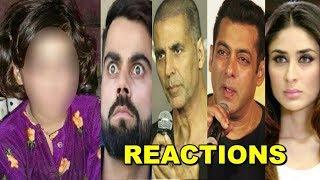 Bollywood Celebs SAD & ANGRY Reaction On Kashmiri Little Girl