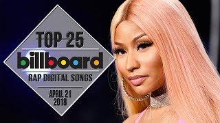 Top 25 • Billboard Rap Songs • April 21, 2018   Download-Charts