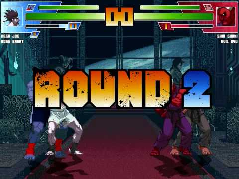 Nega Joe Boss Sagat vs Shin Gouki Evil Ryu Tourney Update