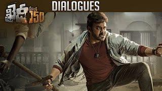 Khaidi No 150 Dialogue Trailers   Back 2 Back   Chiranjeevi   Kajal   TFPC