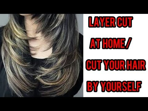 Xxx Mp4 How I Layer Cut My Hair At Home Step By Step Easy Hair Cut At Home Long Medium Hair 3gp Sex