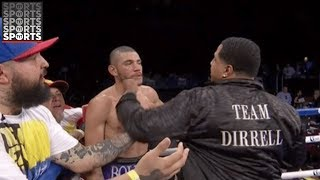 Trainer Sucker Punches Opposing Boxer After Controversial Finish