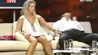 Live Broadcast making love..  Hot girl and mini skirt